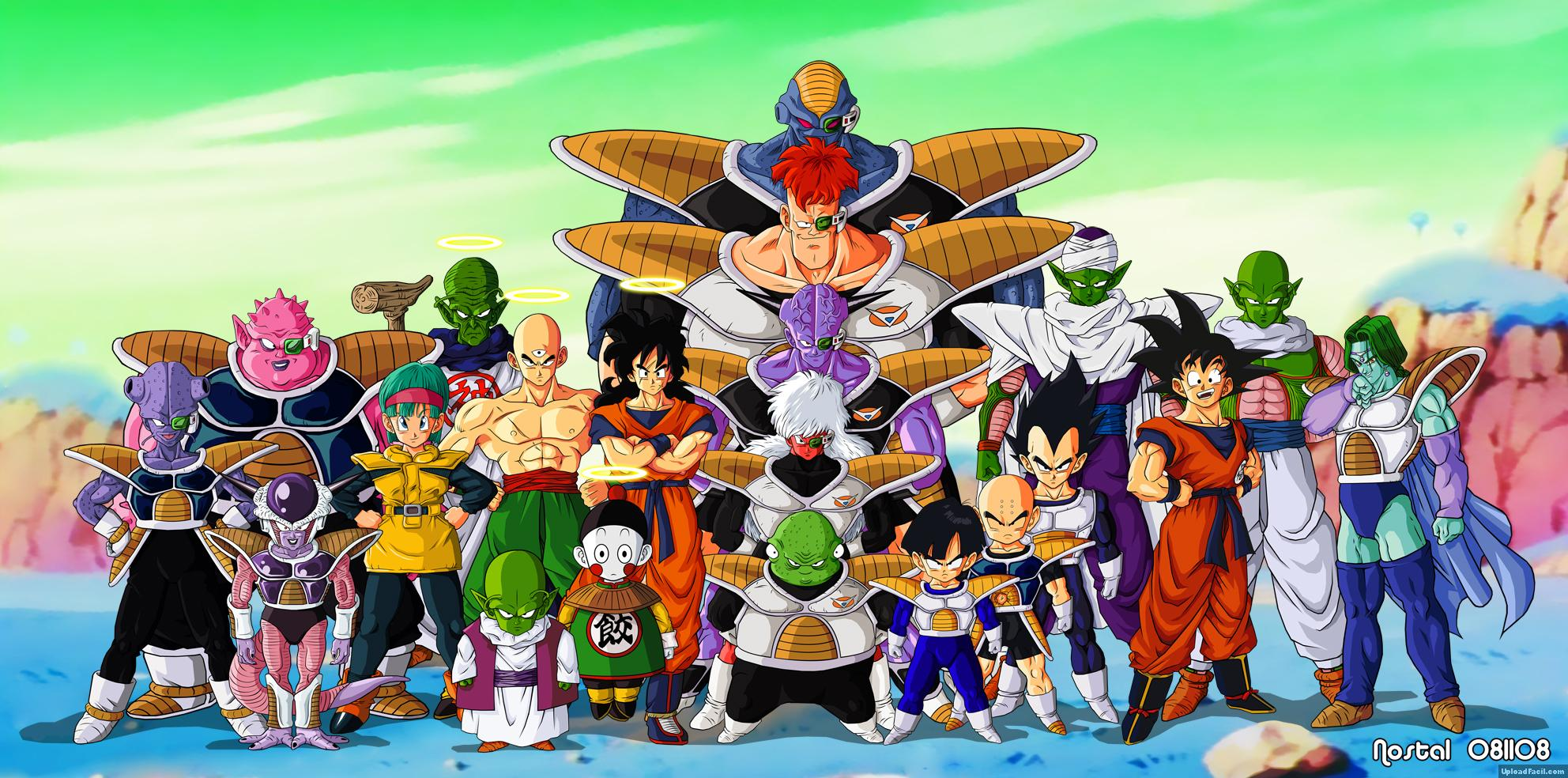 Z Characters Anime : Dragon ball z characters yamcha piccolo chiazou trunks