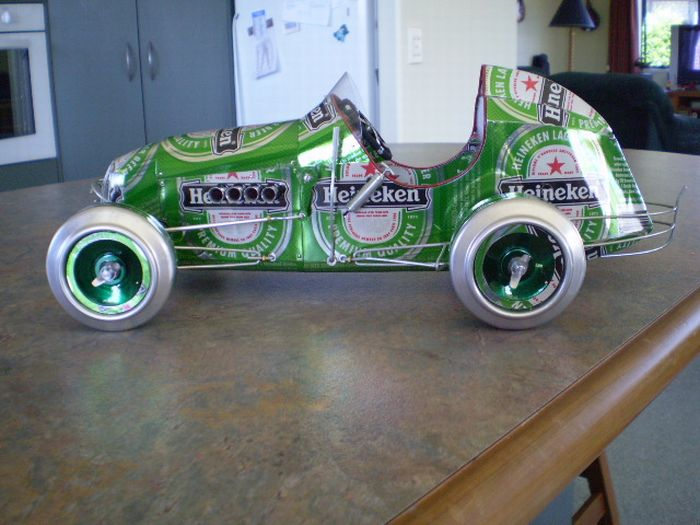Cars Made of Tin Cans