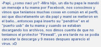 Dale #Rs Si naciste por que no encontraron el protector &quot;FireWall&quot; xD :grin: